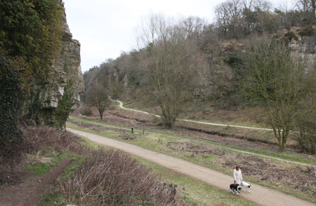 creswell crags outdoor panorama